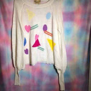 WILDFOX girl talk sweater